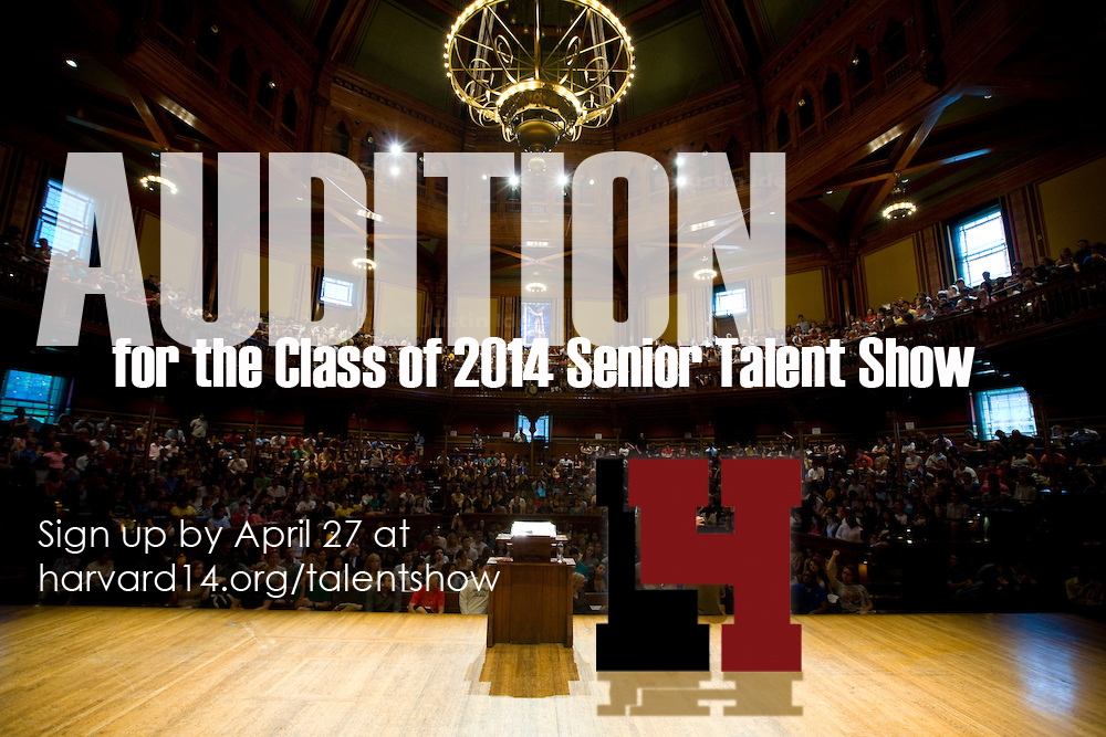 Audition for the Talent Show